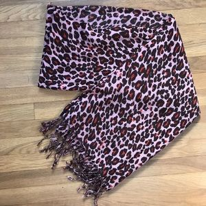 Accessories - Cheetah Print Scarf